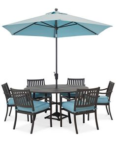 Holden Outdoor Aluminum 7-Pc. Dining Set (60