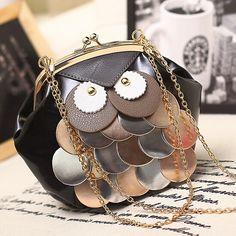 High Quality PU leather Chain Owl Mini Bag     #fashion #girls #shopping #glamour #clothes #women #moda #shoppingonline #coupon