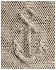 knitting stitch anchor