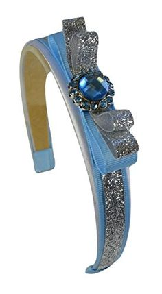 Cinderella Inspired Sparkling Glitter Headband Funny Girl Designs http://www.amazon.com/dp/B00NGOQCO0/ref=cm_sw_r_pi_dp_iuyjub105FSV5