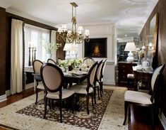 Love this Candace Olsen dining room!