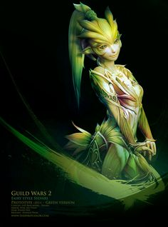 View an image titled 'Fairy Style Sylvari Art' in our Guild Wars 2 art gallery featuring official character designs, concept art, and promo pictures. Elfen Fantasy, 3d Fantasy, Fantasy Kunst, Fantasy World, Fantasy Fairies, Fantasy Inspiration, Character Inspiration, Character Art, Character Concept