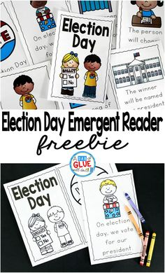 The Presidential Election will be here before we know it . Since this is a very important event for the United States that only happens every four years, it is important to discuss and educate even the littlest of learners. I always love combining social Social Studies Activities, Teaching Social Studies, Student Teaching, Teaching Ideas, Social Studies For Kindergarten, Teaching Election, Elementary Teaching, Elementary Science, Educational Activities