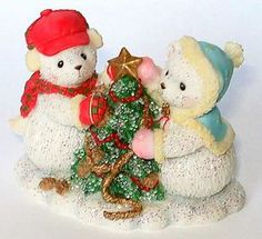 Heidi´s Cherished Teddies Galerie: Hamilton Snowfall of Friendship 3rd - You Trim My Life With Love (09-00063-003)