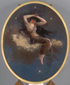 The spirit of the Southern Cross, 1888 ~ Artur José de Sousa Loureiro 1853-1932