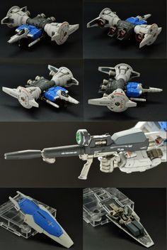 RG 1/144 Gundam GP01FB Full Burnern - Painted build   Modeled by gnd38898