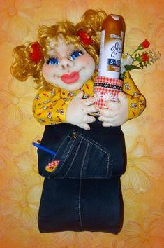 Weekend Humor, Doll Clothes, Room Decor, Dolls, Christmas Ornaments, Holiday Decor, Crafts, Sock Snowman, Handmade Dolls