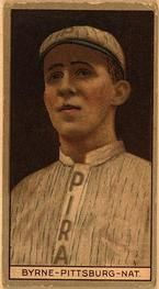 1912 Brown Backgrounds T207 #23 Bobby Byrne Front