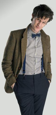 Matt Smith-Doctor Who-the 11th Doctor- Christopher Wren inspiration