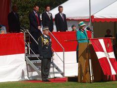 HM The Queen speaking
