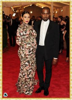 Kim Kardashian (Givenchy) Met Gala 2013 red carpet