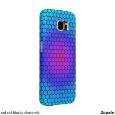 red and blue samsung galaxy s6 cases