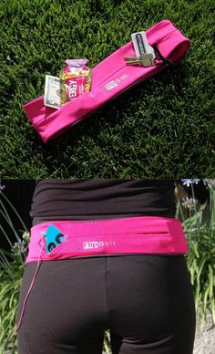 Holds your phone, keys and more while you exercise! No more bulky waist bands that ride up or jiggle.