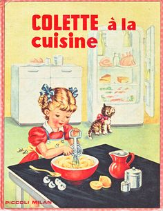Colette a la Cuisine - the Radiosa series of books illustrated by Mariapia
