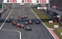 Round 3, UBS Chinese Grand Prix 2013, Race, Start