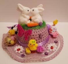 Easter Bonnet —   Easter Rabbit    (2129x2000) Rabbit, Easter, Cake, Desserts, Food, Bunny, Tailgate Desserts, Rabbits, Deserts