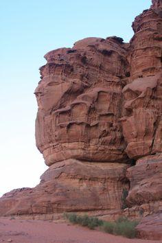 Wadi rum - head of Queen