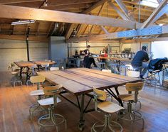 Sightglass Coffee second floor seating by niallkennedy, via Flickr