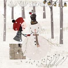 Greeting Cards by Graham Longdin, via Behance