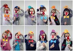 Certains CP sont en classe de cirque cette semaine, d'autres préparent carnaval activement... Circus Theme, Circus Party, Diy Butterfly Costume, Clown Crafts, Art Du Cirque, Cute Kids Crafts, Kids Carnival, Mermaid Diy, Fathers Day Crafts