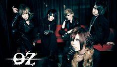 OZ... (オズ), es una banda japonesa de Metal Alternativo y Death Metal perteneciente al estilo Visual Kei. Members: Natsuki, Aki, Zukki, Nao, Tama. :)