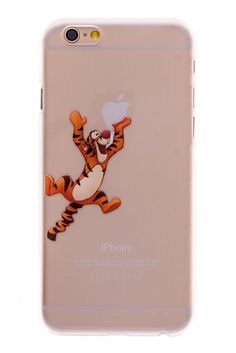 Tigger Transparent Back Cover Case for iPhone 6