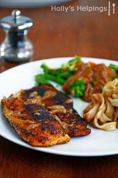 Spicy Blackened Tilapia.  An easy yummy fish recipe