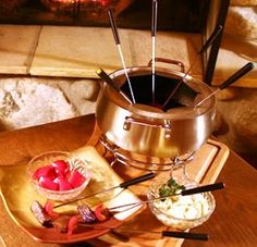 Each year around Valentines Day, it is a tradition for my little family to make fondue. We love to get together with friends and have a litt...