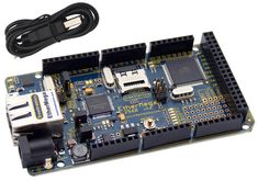 The EtherMega is a 100% Arduino Mega 2560 compatible board that can talk to the world.