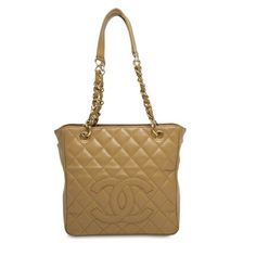 Chanel Shopping Caviar Tan Tote Bag. Get one of the hottest styles of the season! The Chanel Shopping Caviar Tan Tote Bag is a top 10 member favorite on Tradesy. Save on yours before they're sold out!