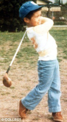 #Tiger Woods - get your child started - teach them golf young - Tiger started at 4 years old