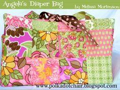 Angela's Diaper Bag- a free tutorial
