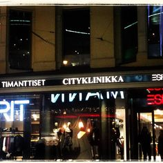#Cityklinikka by night.