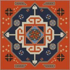 Gallery.ru / Фото #89 - Napkins, Carpets, Pillows 1 - Summerville
