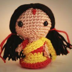 Meena Doll Amigurumi Free Pattern