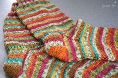 knitting pattern for yarn socks