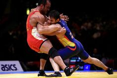 ESP in Budapest 2013.  Wrestling. Lucha libre olímpica.