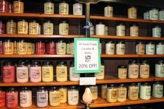 #Swan #Creek #candles are  20% off in the #gift #house now! Come take a whiff for yourself! #shopping #sale #holidays #candle #present #bradford #vermont #handmade #soy #wax