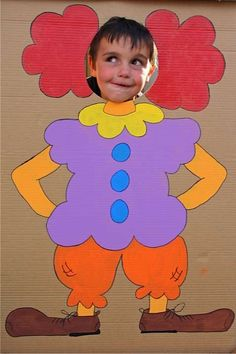 Clown Cut Out and Other Theme Party Ideas for a – Child Carnival Clown Party… Clown Cut Out and Other Theme Party Ideas for a – Child Carnival Clown Party… Clown Party, Carnival Party Games, Fall Carnival, Kids Carnival, Circus Theme Party, Carnival Birthday Parties, Circus Birthday, Birthday Party Themes, Birthday Games