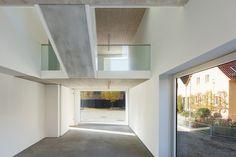 Die Kalksteinwände schließen mit einem Wärmedämmverbundsystem ab | (se)arch - Freie Architekten ©Zooey Braun, Stuttgart