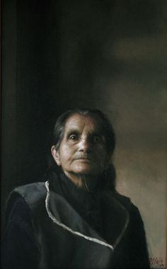 Terita, painting by guillermo lorca