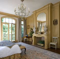 Traditional French architecture detailed out to the int degree, from studs to interior design, RDDA will custom design your french architecture home
