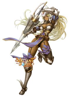 Valiant Force truly original tactics game for everyone. Singapore best mobile game into a visually stunning fantasy world of magic and epic battles. Fantasy Female Warrior, Female Knight, Fantasy Armor, Fantasy Women, Fantasy Girl, Woman Warrior, Fantasy Character Design, Character Design Inspiration, Character Concept