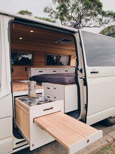 Diy Van Interior, Opel Vivaro Camper, T5 Camper, Van Life, Motorhome, Astuces Camping-car, Do It Yourself Camper, Camper Van Kitchen, Minivan Camper Conversion