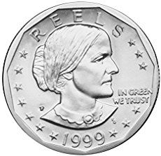 The entire collection of Susan B. Anthony dollars consists of just 11 coins, minted for 3 short years from 1979 through 1981, then again in 1999 because of high demand created by transit and postal vending machines.