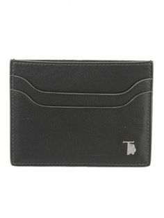TOD'S Tod's Logo Plaque Card Holder. #tods #wallets
