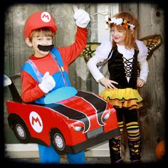 Mario Kart from a cardboard box... - CRAFTSTER CRAFT CHALLENGES