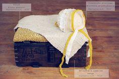 Vintage love stylizacja sesji noworodkowej. Do sesji użyto akcesoriów dostępnych w sklepie Mamamada.pl