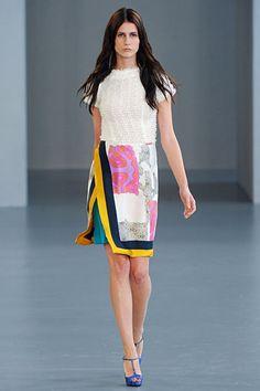 her skirt <3 Michael van der Ham, Spring 2012