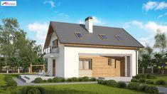 Z255 B pc to wyjątkowy dom z kategorii projekty domów jednorodzinnych